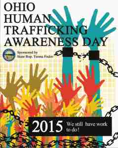 ohio human trafficking awareness day 2015 (small)